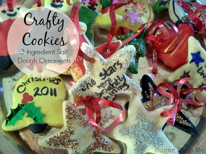 Salt Dough Ornaments #saltdoughornaments