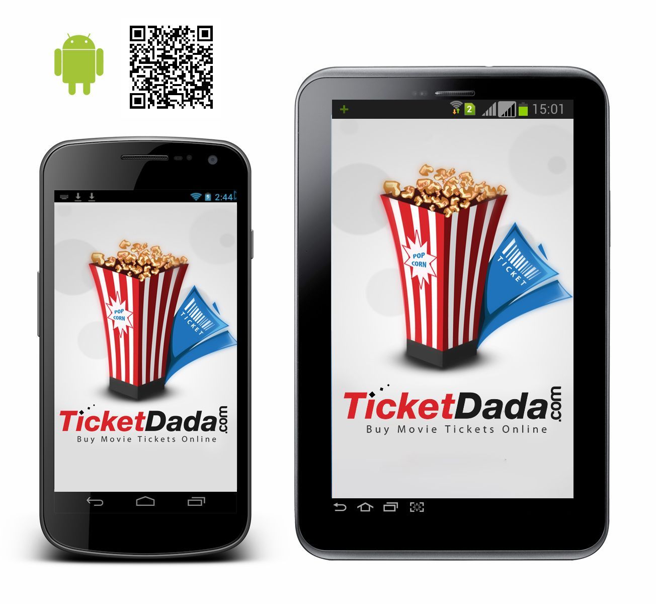 Book your seats anytime, anywhere. Download Ticketdada