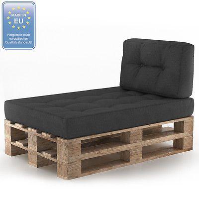 details zu palettenkissen kaltschaum kissen palettensofa palettenm bel palette couch sofa home. Black Bedroom Furniture Sets. Home Design Ideas