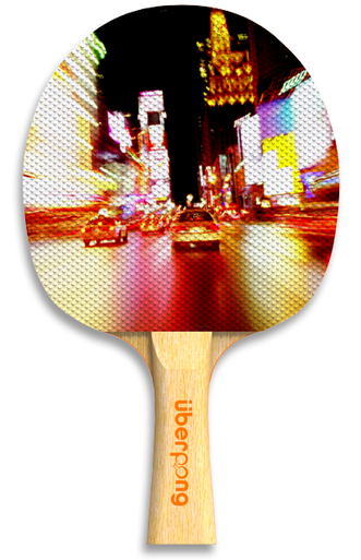 Nyc Nights Designer Ping Pong Paddle Ping Pong Paddles Table Tennis Racket Paddle