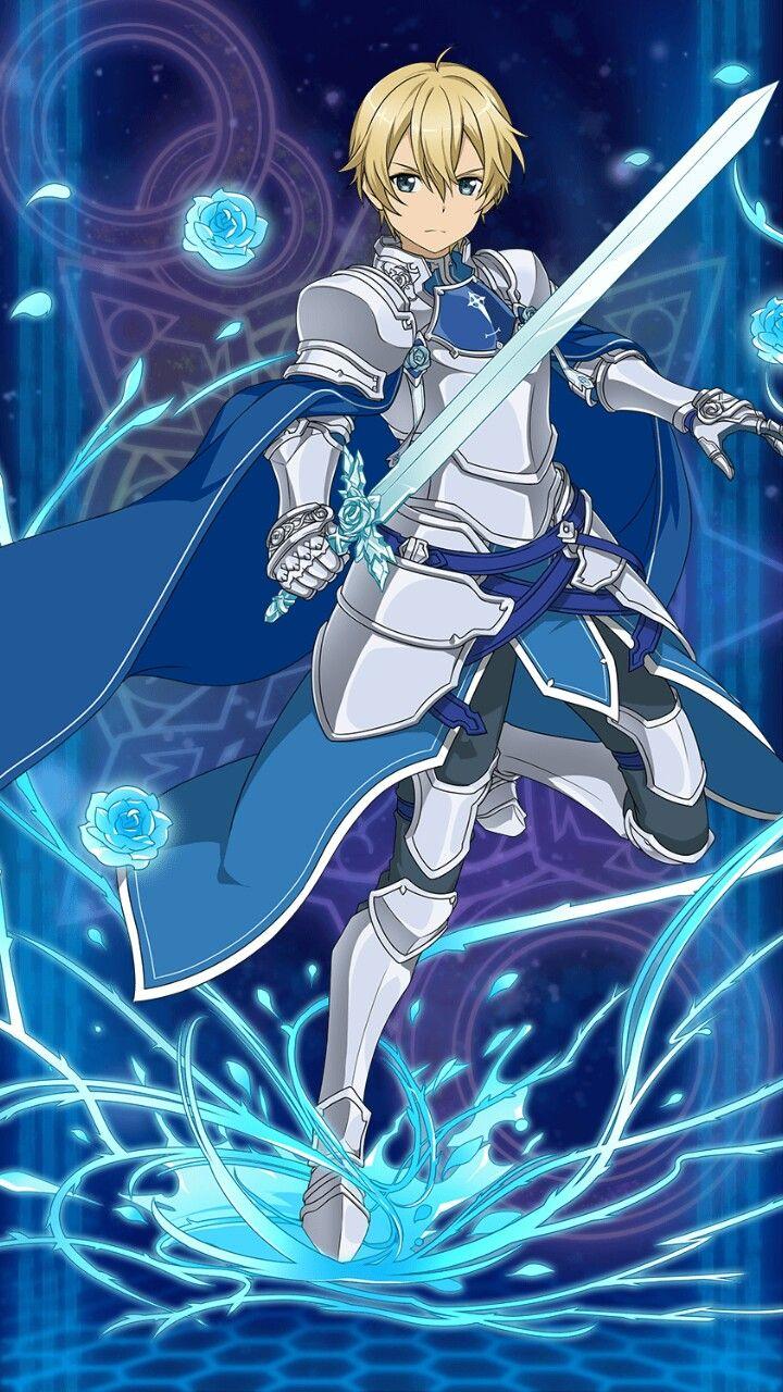 Eugeo (SAO Alicization) Sword art, Sword art online