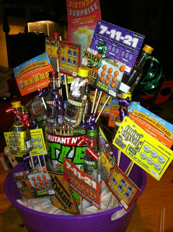 Shots Scratch Offs And Add Candy Great 21st Birthday
