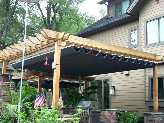 retractable rain canopy retractable canopies transform ... on Patio Cover Ideas For Rain id=39145