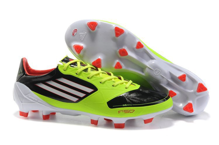 cbfda0006b5 Authentic adidas adizero TRX FG Leather Micoach Bundle Shoes Green Black  Red For Wholesale