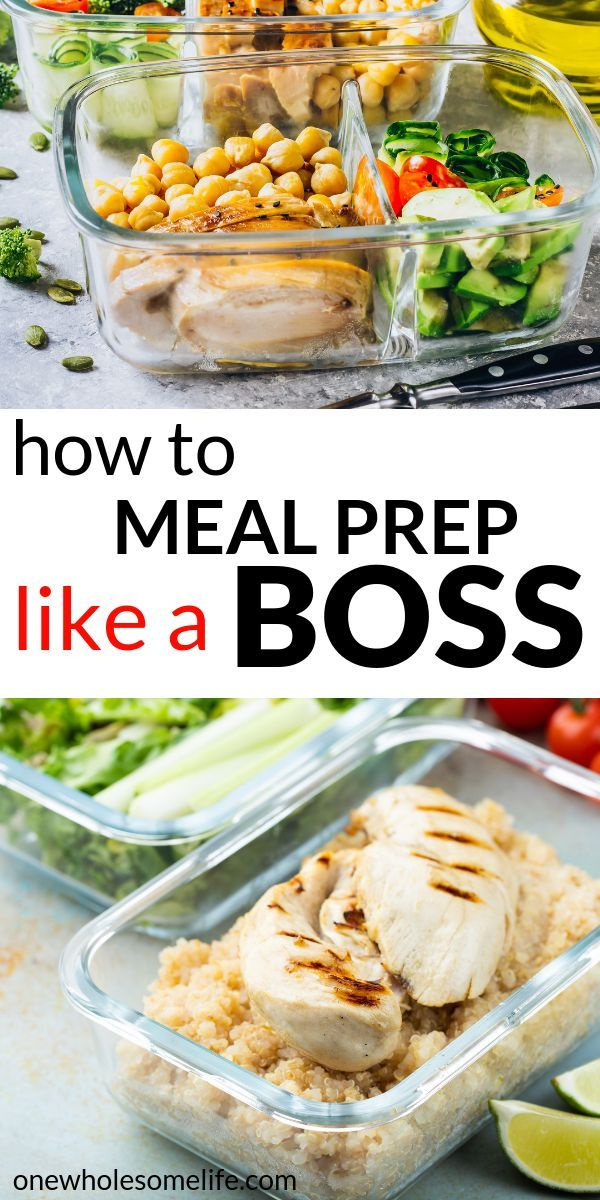 How To Meal Prep For A Busy Week