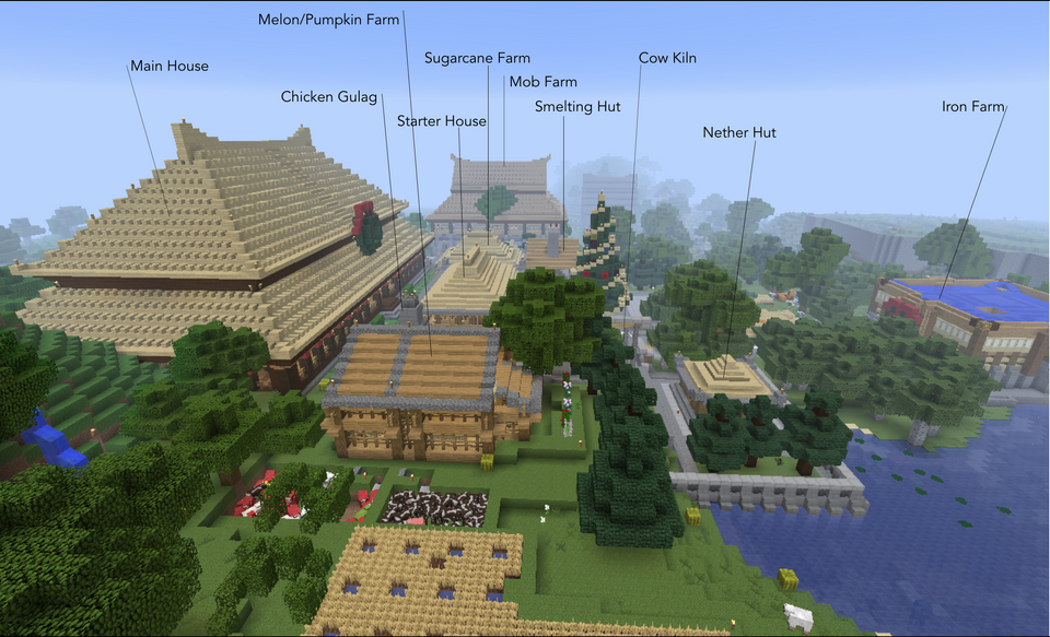 Hall Of Supreme Harmony Inspired Realm Survival Base