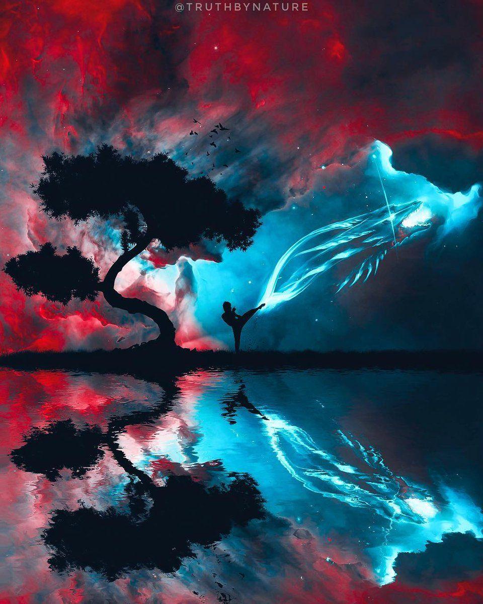 Cees2233 Cees22331 Twitter Bruce Lee Photo Fractal Art