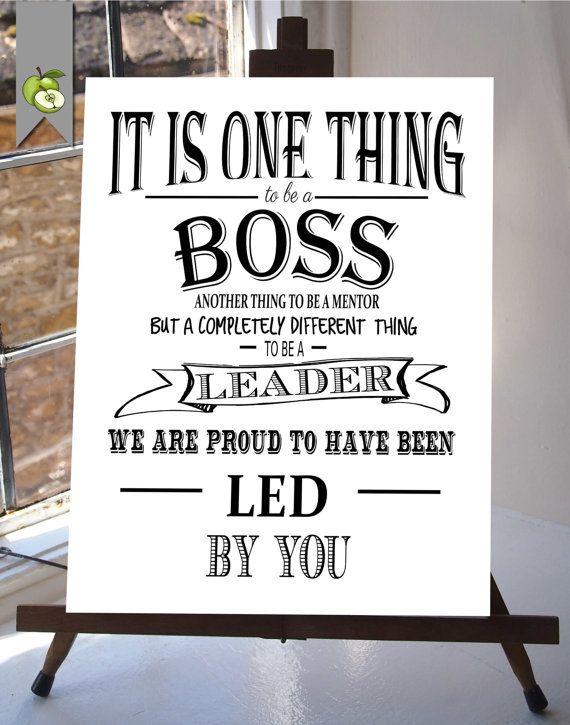 Boss Appreciation Week Day Boss Week Boss Boss Gift Thank You