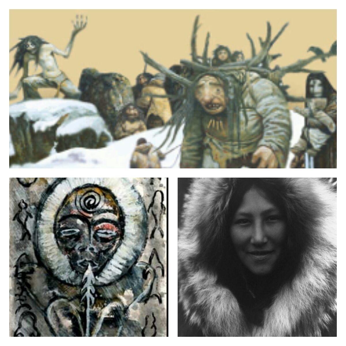 mitologia inuit o mitologia de los esquimales viven en las