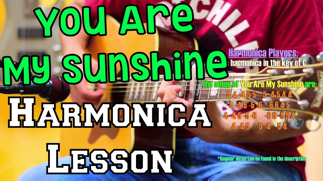 You are my sunshine backing track w harmonica tabs learn it you are my sunshine backing track w harmonica tabs learn it youtube hexwebz Image collections