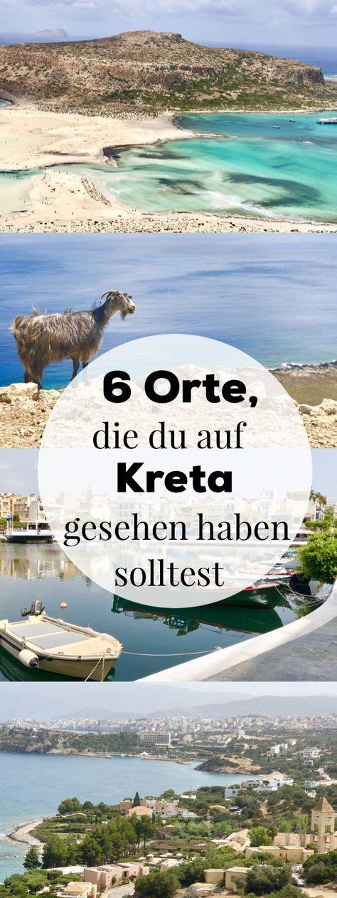 Kreta Urlaub - 6 Orte, die du dort auf jeden Fall besuchen solltest #traveltogreece