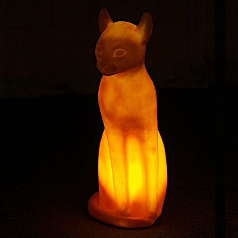Orange Siamese Cat Lamp lottie the dalston cat Кошки