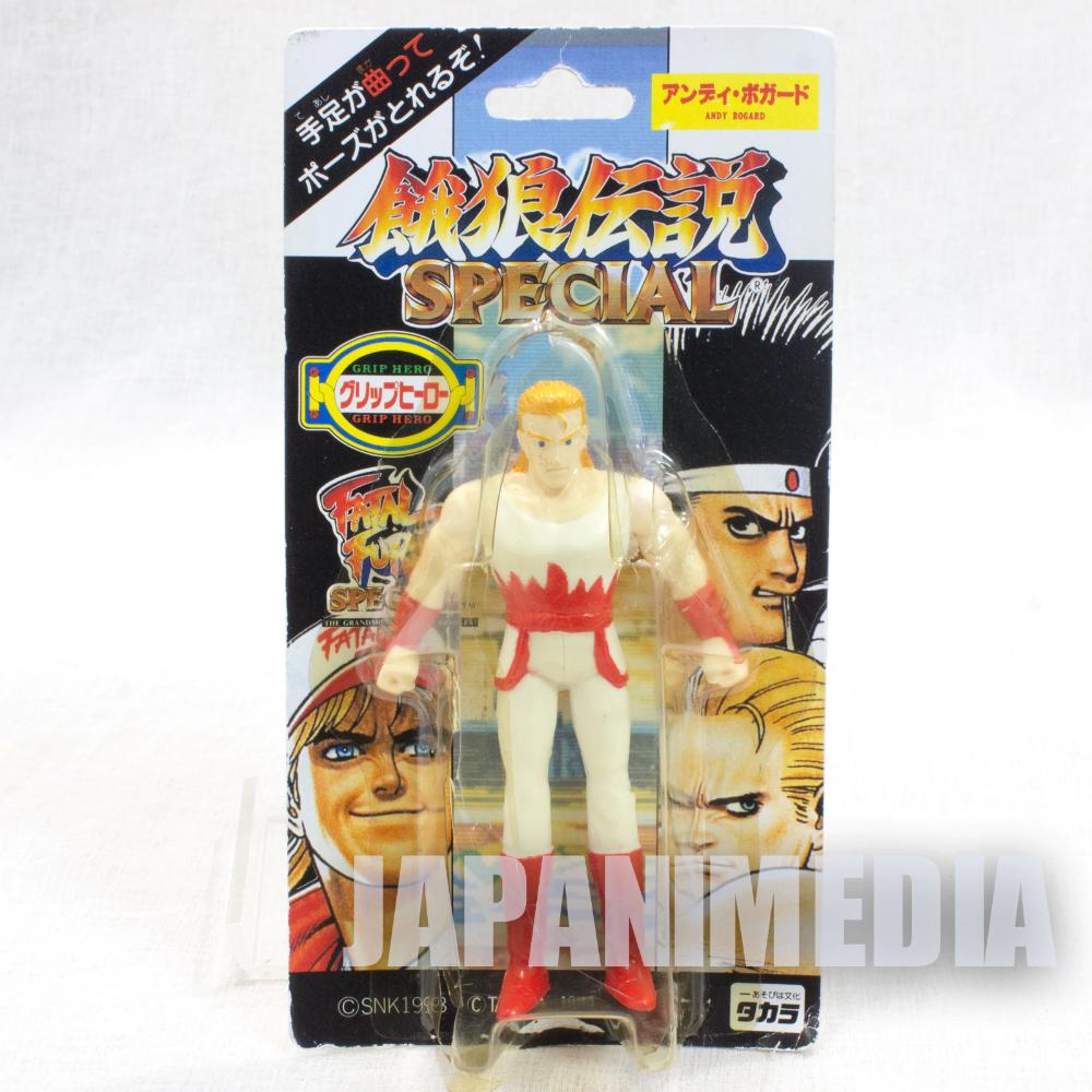 Rare Fatal Fury Special Andy Bogard Mini Action Figure Grip Hero Snk Japan Action Figures Hero Fury