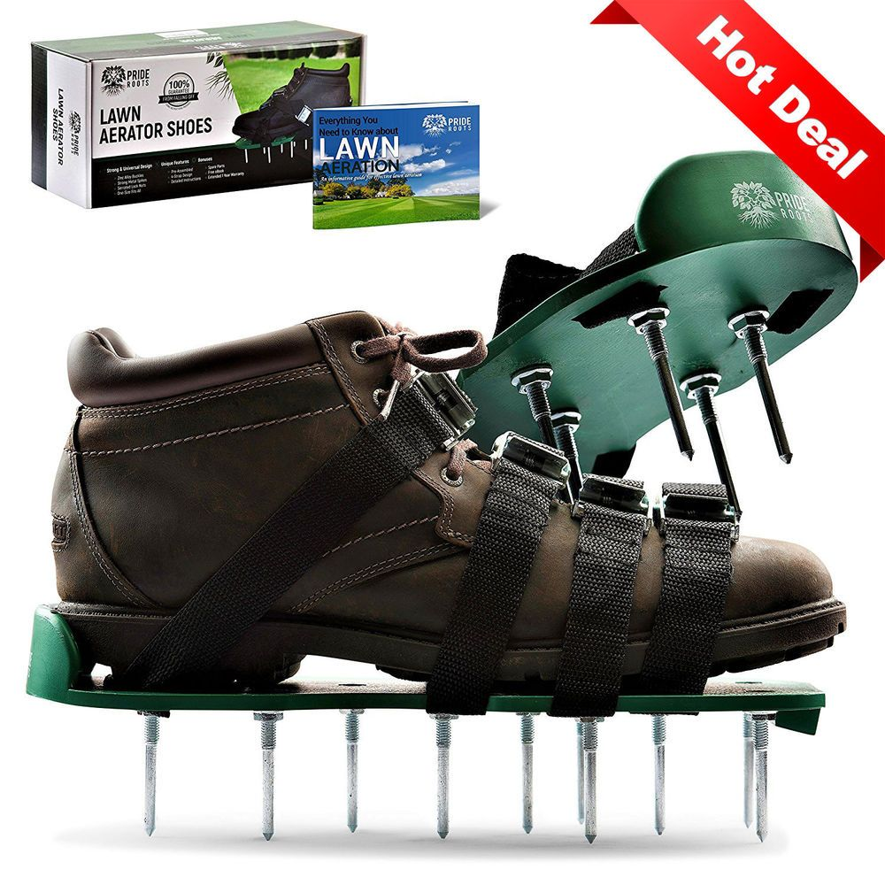 Lawn Core Aerator Shoes Spiked Sandals Garden Grass Soil