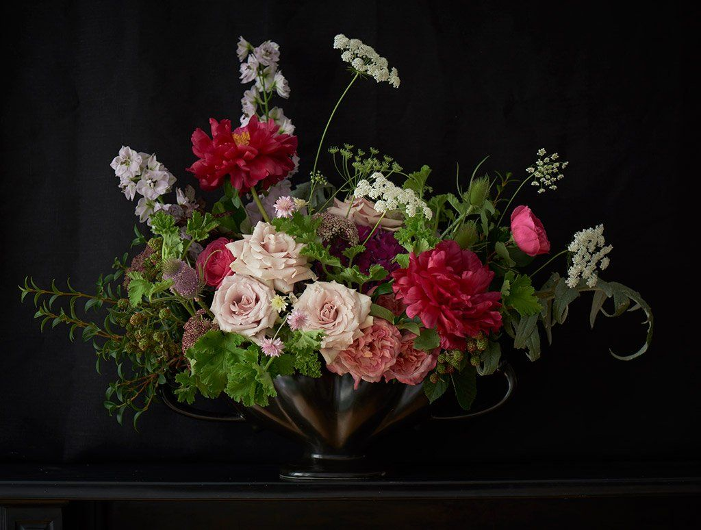 Our Flowers Scarlet Violet London Very Pretty Botanical Art
