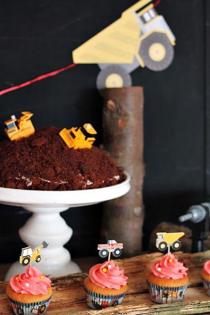 Maulwurfkuchen Perfekt Fur Den Geburtstag Baustellen Party
