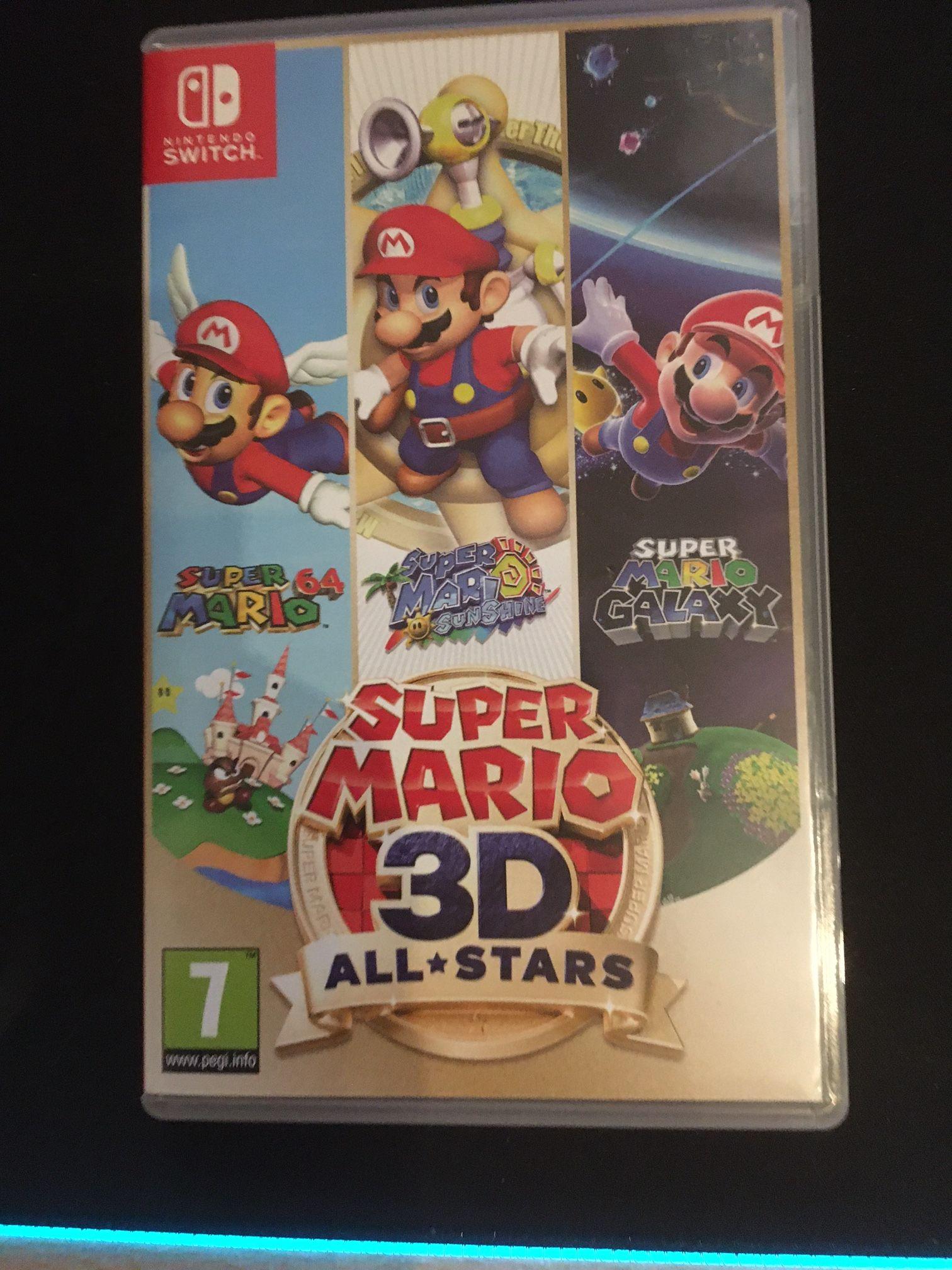 Super Mario 3d All Stars Bevat Super Mario 64 Super Mario Sunshine En Super Mario Galaxy Allemaal Geoptimaliseerd Voor Nintendo Switch Limitededition Super In 2020
