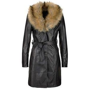Faux Leather Coat by Melrose | Look Again