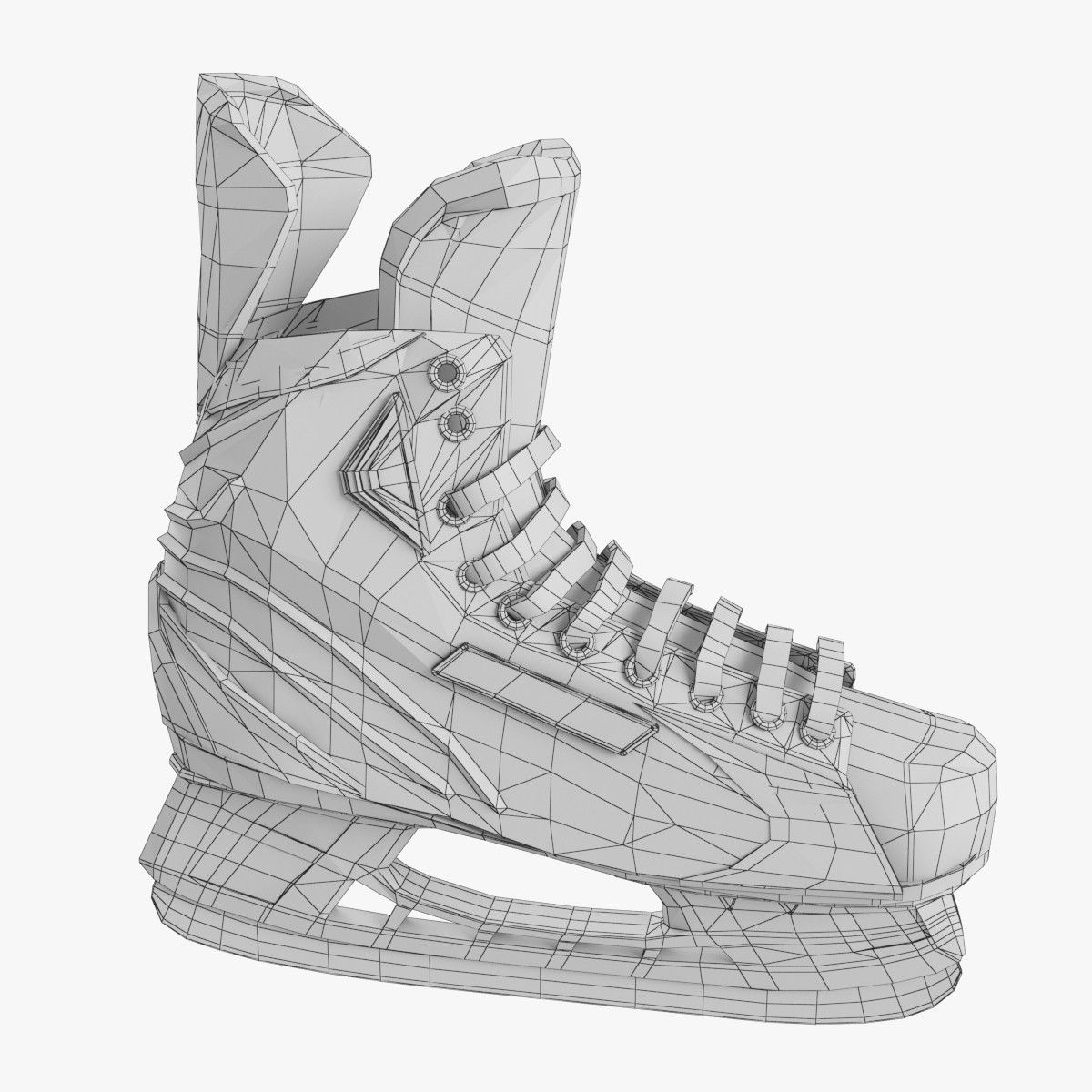 3d ice hockey skates bauer model | 3D Meshes in 2019 | Ice