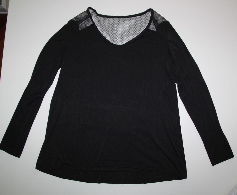 6f99e4c0289 TAHARI Black Long Sleeve Career Blouse Dressy Shirt Size Small S EUC   fashion  clothing  shoes  accessories  womensclothing  tops (ebay link)