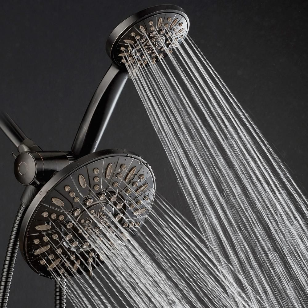 Aquadance 48 Spray 7 In Dual Shower Head And Handheld Shower Head