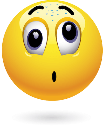Surprised Smiley Animated Emoticons Emoji Pictures