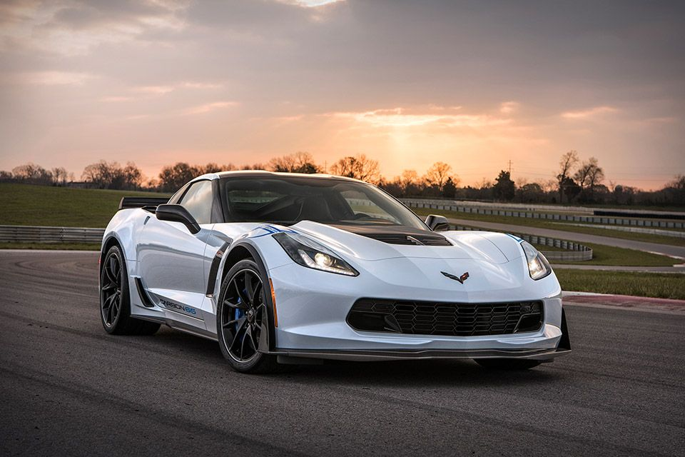 2018 Chevrolet Corvette Carbon 65 Edition White corvette