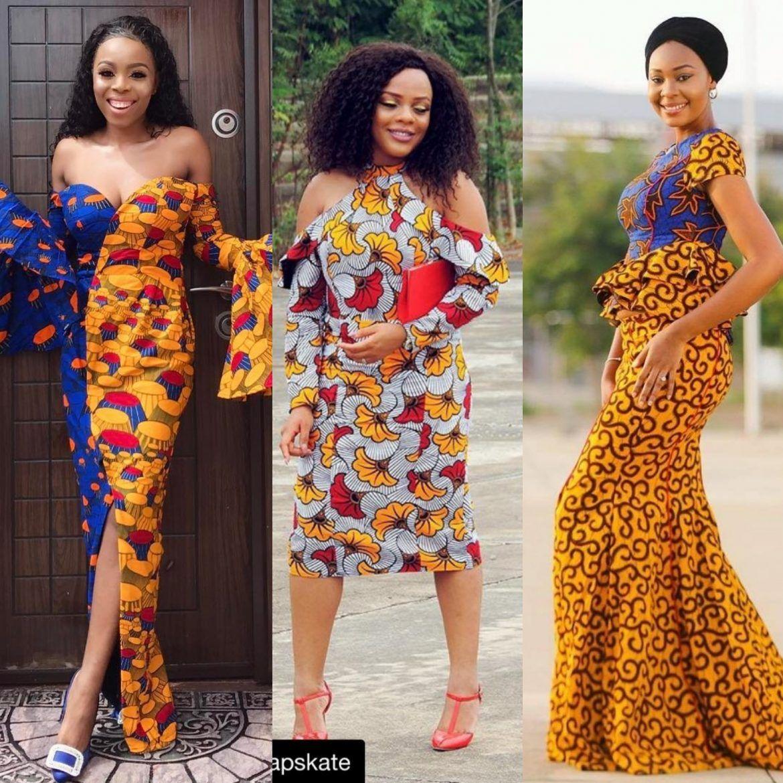 b5ec38c1db4 Sexy Ankara Styles | Hottest 2019 outfits. | Ankara styles, Trendy ...
