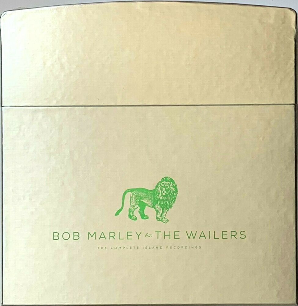 Bob Marley Complete Island Discography Box Set Zippo Cover Vinyl Record Albums In 2020 Vinyl Record Album Boxset Vinyl Records