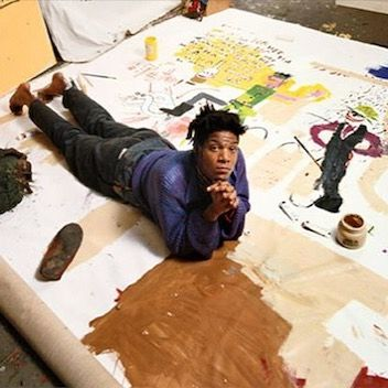 Jean Michel Basquiat Studio