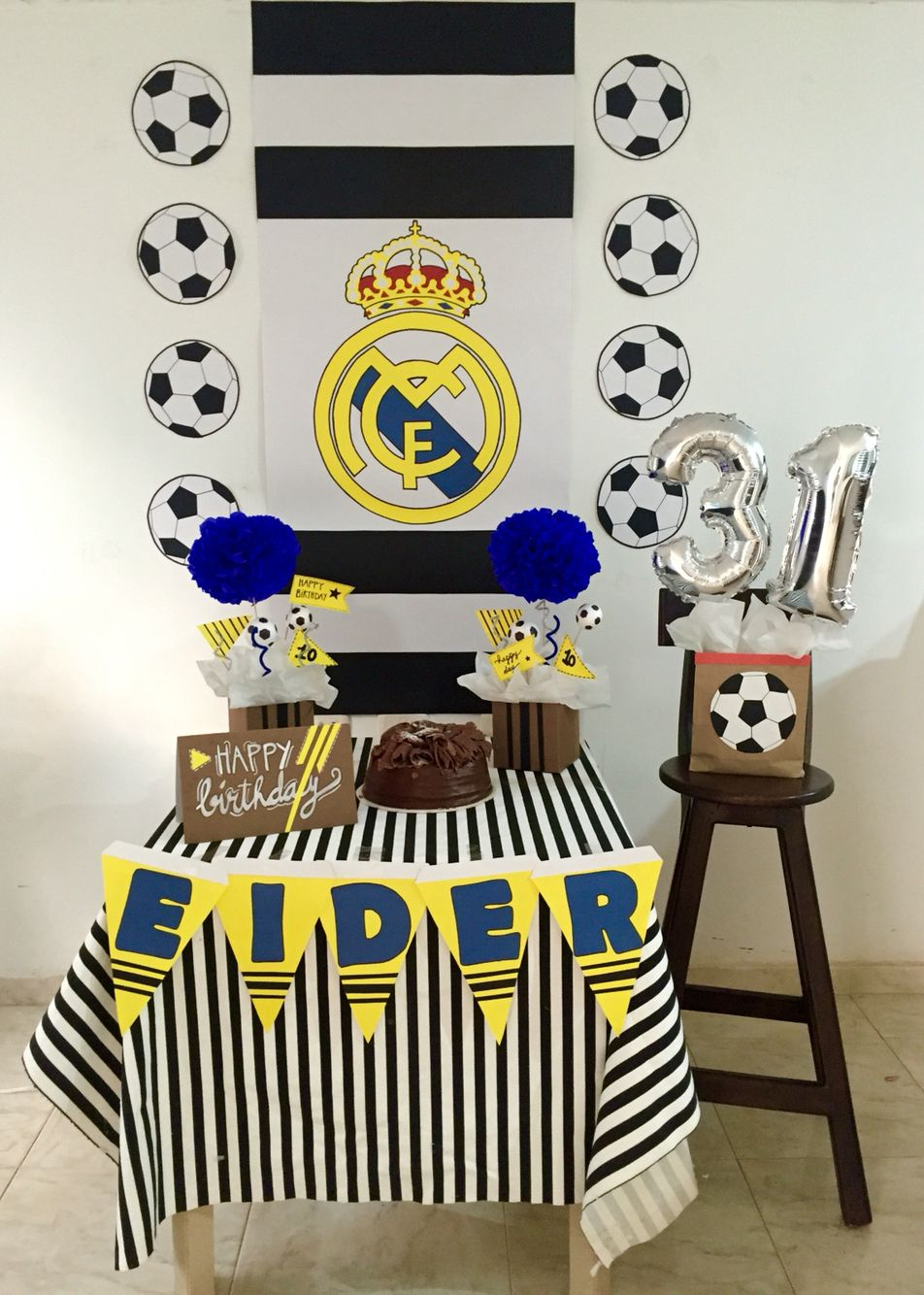 Soccer party real madrid real madrid party pinterest soccer soccer party real madrid altavistaventures Images