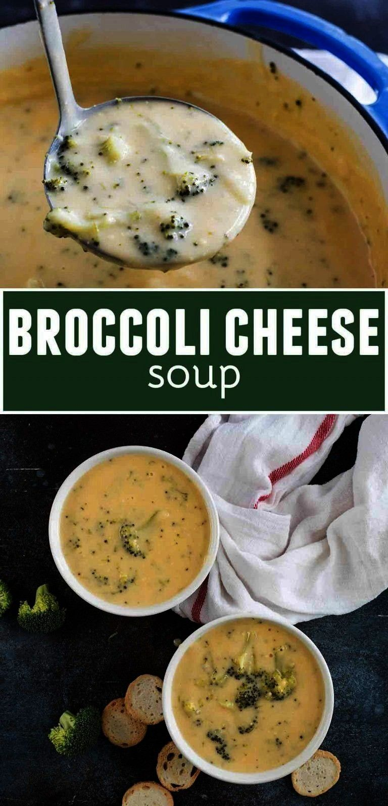 the best Broccoli Cheese Soup - this soup recipe is high on the list of our favorites. Super creamy