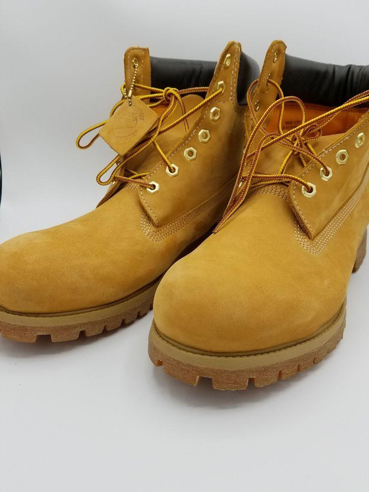 Timberland Men's Boot Size 12 6 Inch Classic Premium 10061