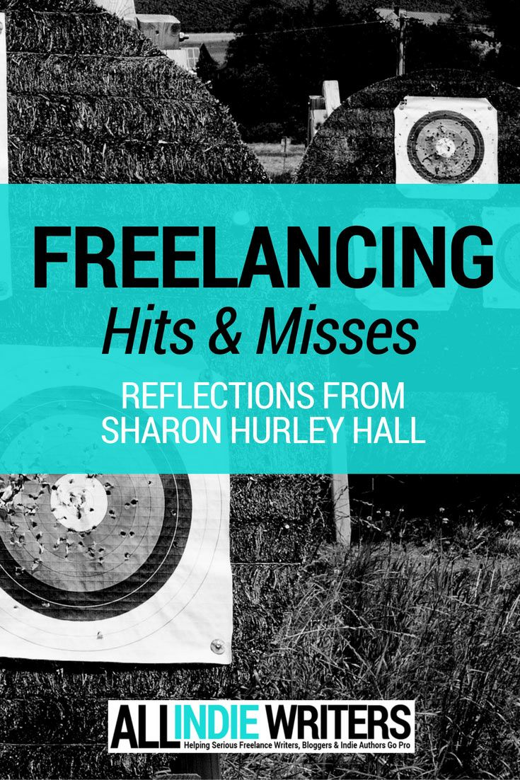 Freelancing His and Misses - Reflections from Sharon Hurley Hall