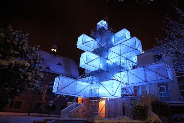 1024 Architecture Creative Label Art Installation Video Mapping Taller De Arquitectura Tianguis Turistico Arquitectura