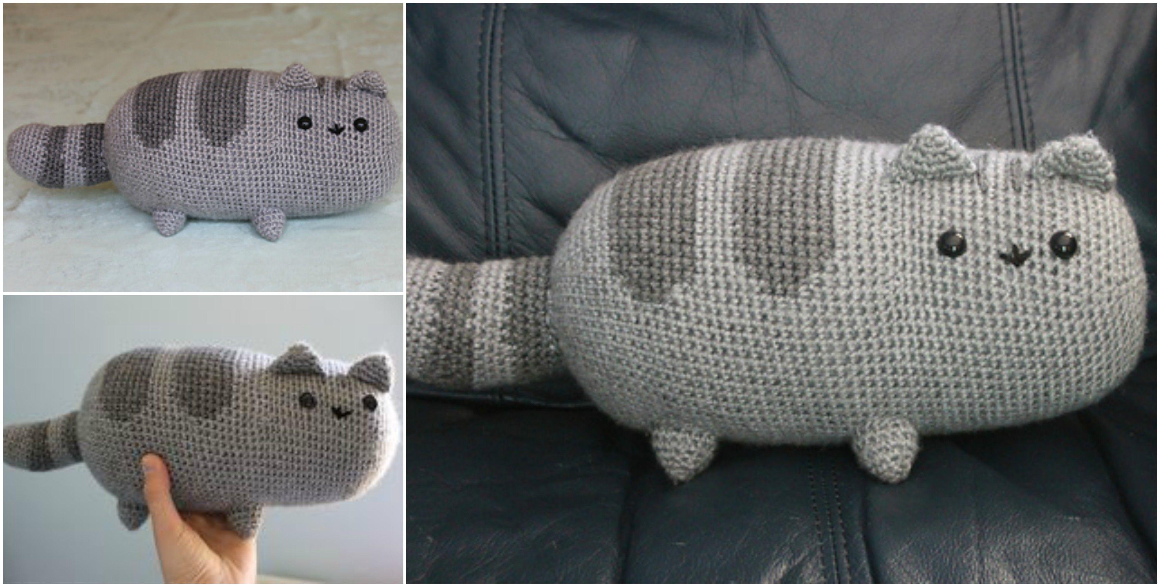 Hermosa Patrón De Crochet Pusheen Molde - Ideas de Patrones de ...