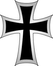 Image result for Teutonic Knights Cross picture