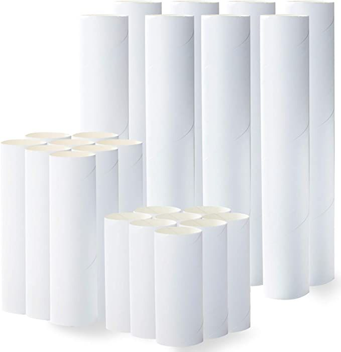 Amazon Com Craft Rolls 24 Pack Cardboard Tubes For Diy Crafts 4 Inch 6 Inch 10 Inch Paper Cardboard Tubes For Diy Ar In 2020 Cardboard Tubes Cardboard Diy Crafts