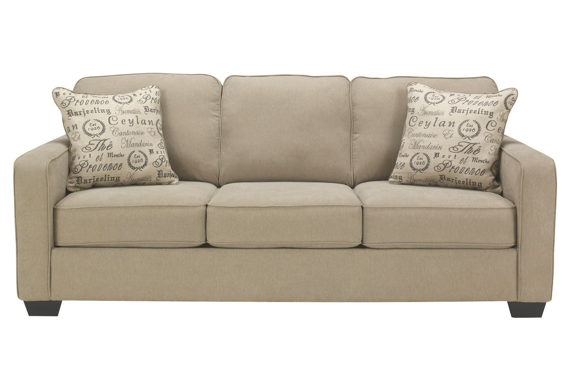 "Alenya Quartz Queen Sofa Sleeper 84""W x 37 5""D x 38""H SKU"