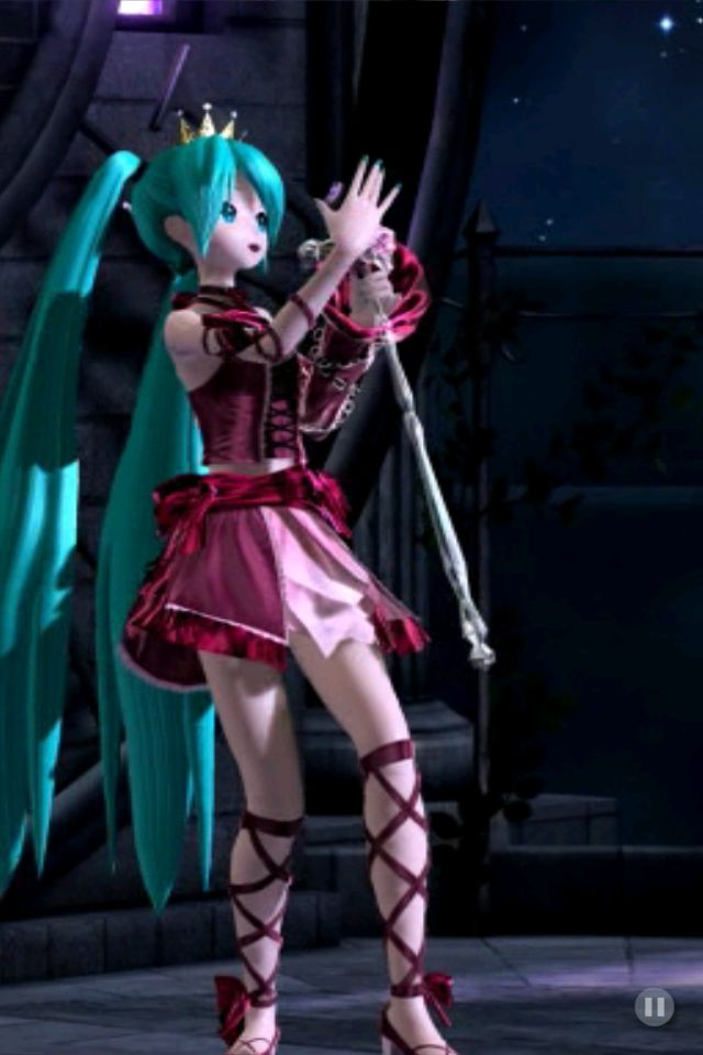 I love Miku's outfit from Romeo and Cinderella! [Miku ...
