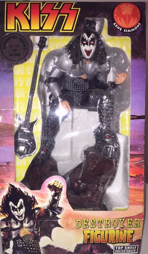 Kiss Destroyer Gene Simmons 24 Action Figure Limited Edition