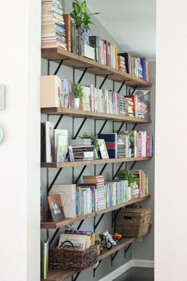Photo of Our Living Room Home Library Shelves – Olga's Flavor Factory