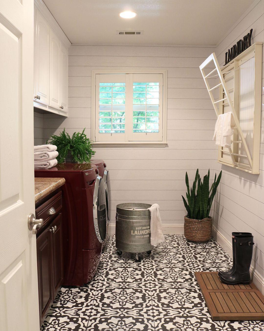 Pin On Laundry Room Cabinets Ideas Laundry room floor ideas