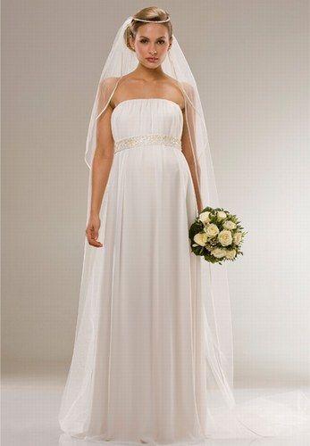 Brautkleid von Asos - Brautmode für Schwangere -   Bilder ...
