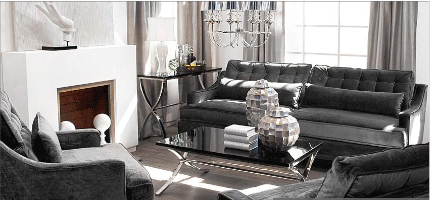 Formal Living Room Style. God, I Love Z Gallerie.