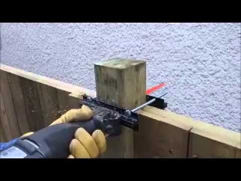 Cutting 6x6 Fence Post Tops How To Cut 4x4 Fence Posts