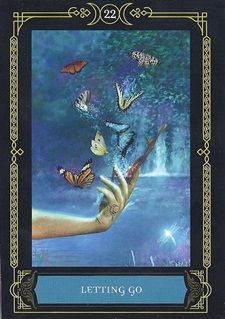 Tarot Dame S Blog Wisdom Of The House Of Night Oracle Cards Letting Go House Of Night Oracle Cards Oracle
