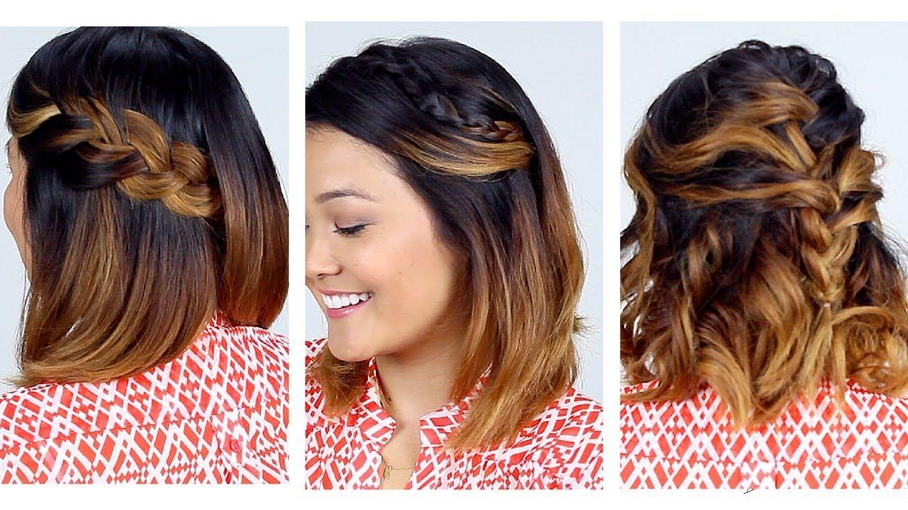 Very easy hairstyle for medium hair Überprüfen sie mehr unter