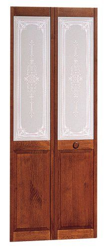 American Wood Products 830726 307 Burgundy 30 X 80 Decorative Bifold Door Unfinished Multifold Interior Doors