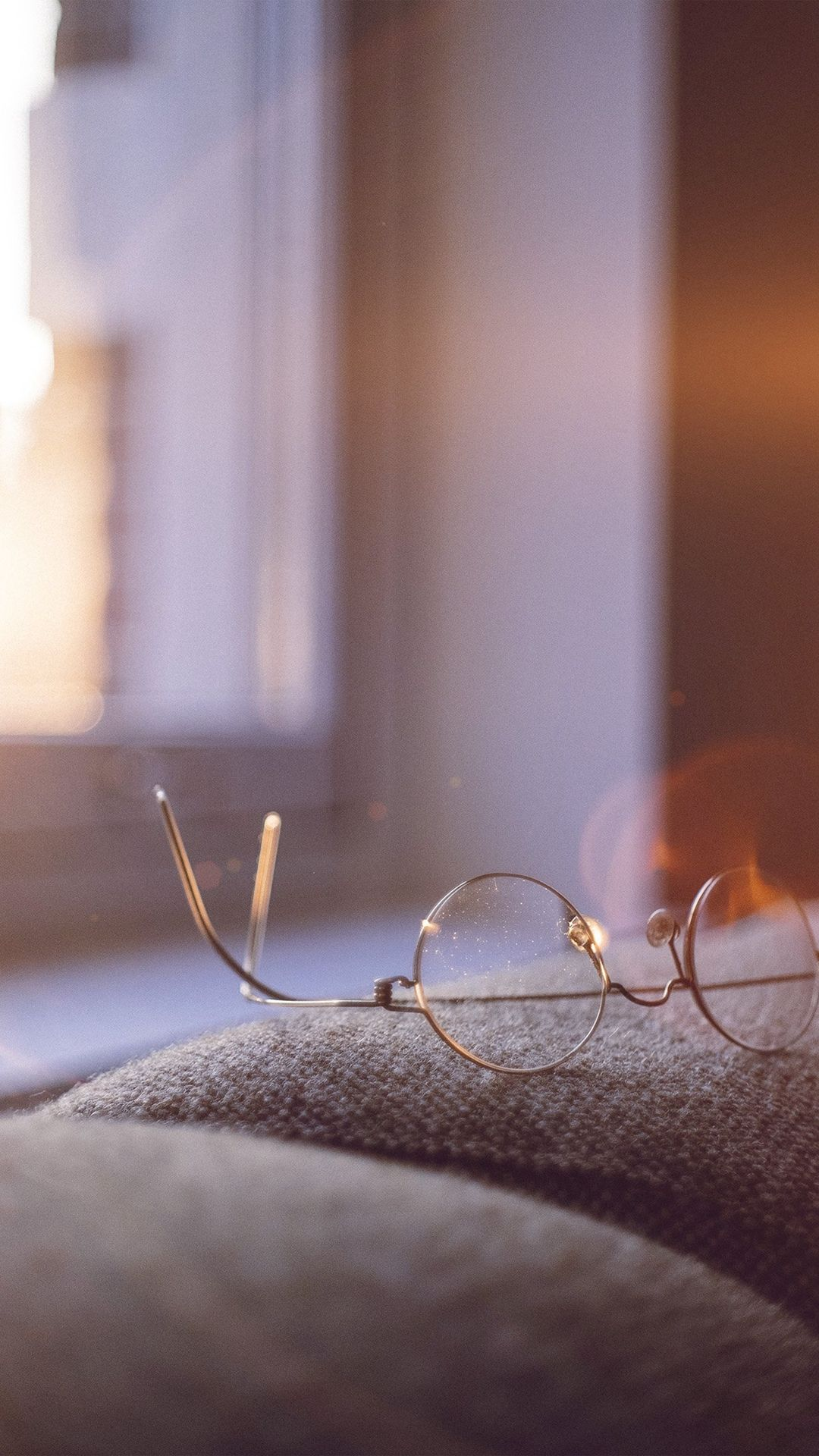 Lonely Quiet Day Home Glasses Sunlight Flare iPhone 6